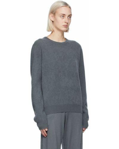 Z kaszmiru długi sweter z długimi rękawami Frenckenberger