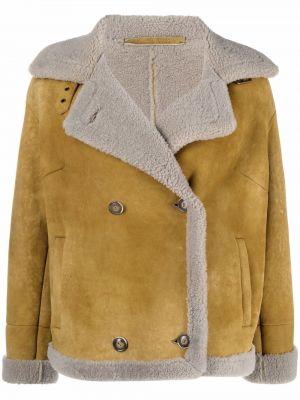 Длинная куртка - бежевая Salvatore Santoro