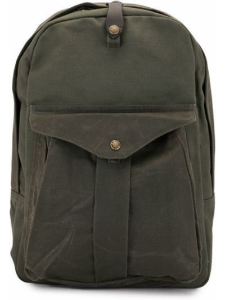 Zielony złoty plecak Filson