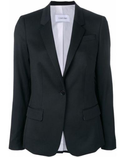 Костюмный черный пиджак Calvin Klein