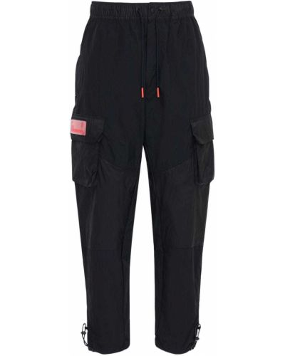 Czarne spodnie z siateczką Nike