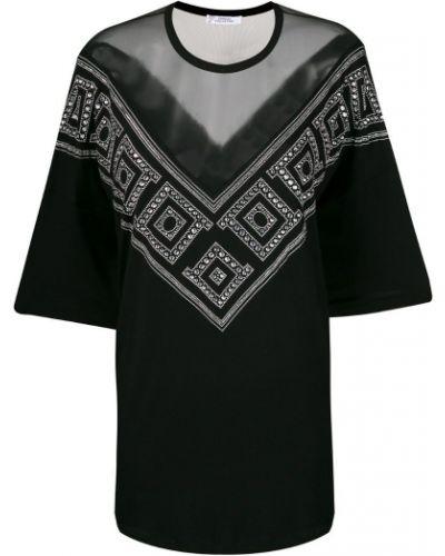 Свободная блузка прозрачная Versace Collection