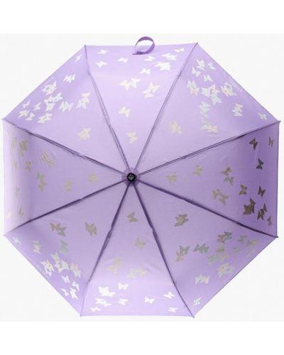 Фиолетовый зонт складной Flioraj