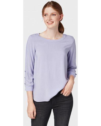 Блузка с длинным рукавом осенняя фиолетовый Tom Tailor