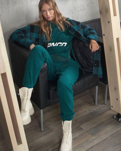 Зеленые брюки Vassa&co