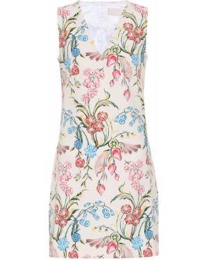 Платье мини с цветочным принтом Peter Pilotto