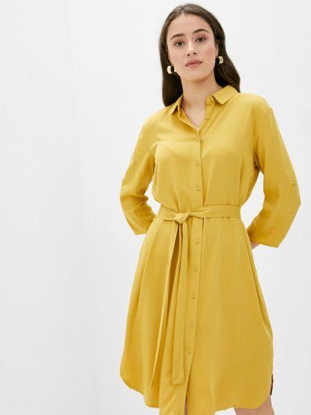 Платье - желтое Top Secret