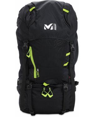 Czarny plecak klamry z paskiem Millet
