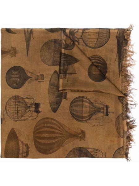 Parasol z printem - czarny Uma Wang