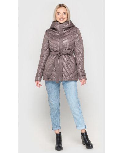 Стеганая куртка - коричневая Kattaleya