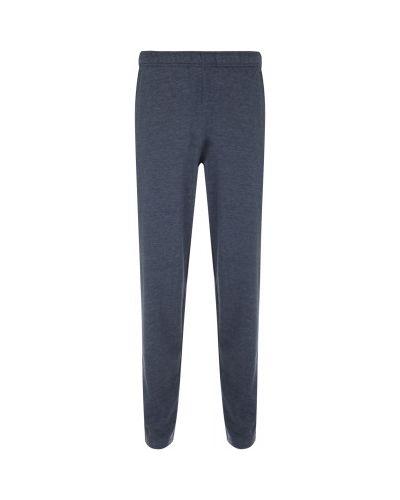 Хлопковые синие спортивные брюки свободного кроя Gsd