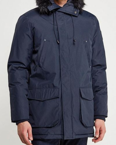 Зимняя куртка утепленная синяя Fresh Brand