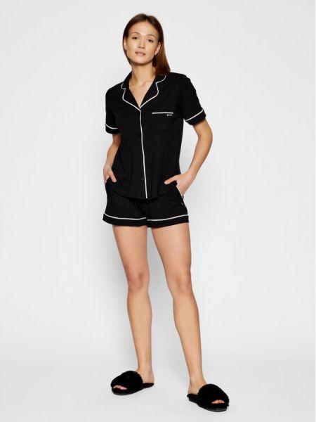 Czarna piżama Dkny