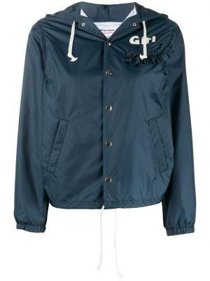 Синяя куртка свободного кроя Comme Des Garçons Girl
