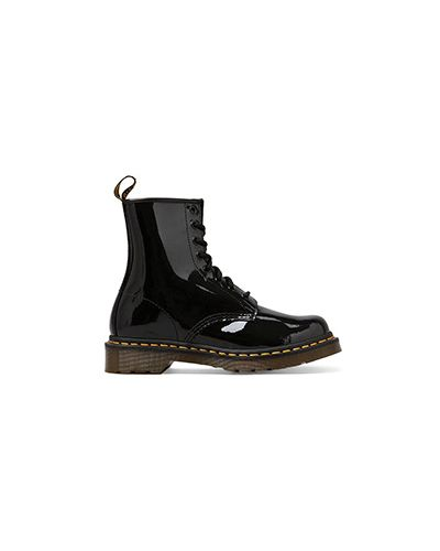 Кожаные ботинки черные кожаные Dr Martens
