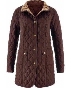 Стеганая куртка облегченная с карманами Bonprix