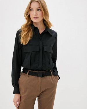 Блузка с длинным рукавом черная Dali