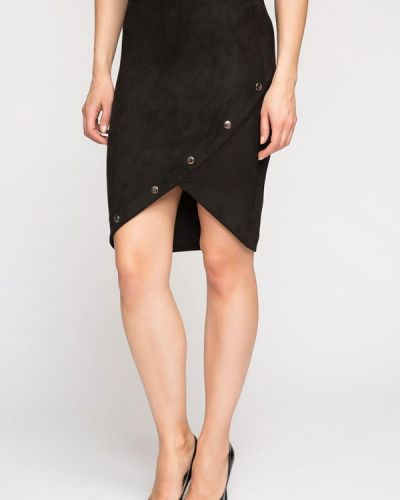Кожаная юбка Kotis Couture