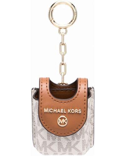 Коричневая ключница Michael Michael Kors