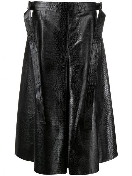Плиссированная юбка миди с завышенной талией Marni