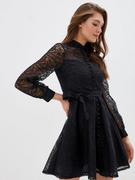 Вечернее платье черное весеннее Mamma Mia