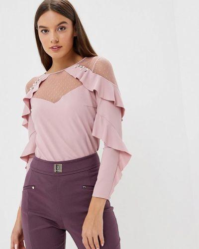 Розовая блузка с длинным рукавом Love Republic
