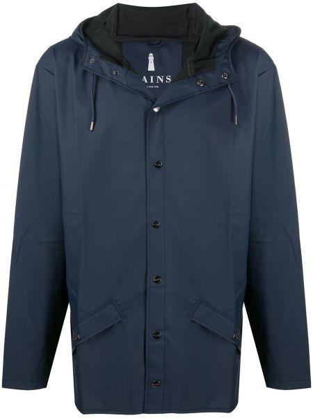 Płaszcz przeciwdeszczowy - niebieski Rains