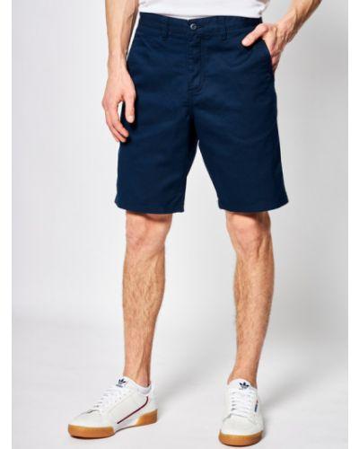 Szorty jeansowe - granatowe Vans