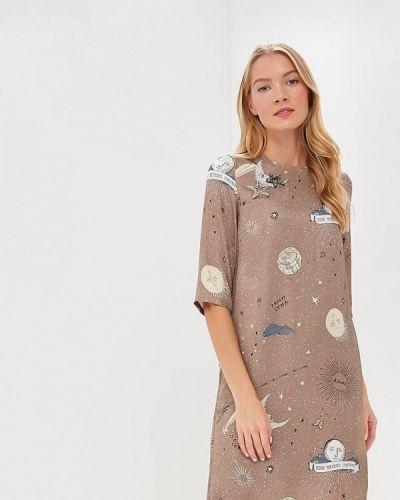Платье осеннее бежевое Ksenia Knyazeva