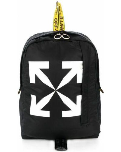 Czarny plecak Off-white
