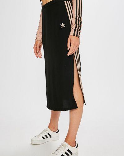 Юбка миди карандаш с завышенной талией Adidas Originals