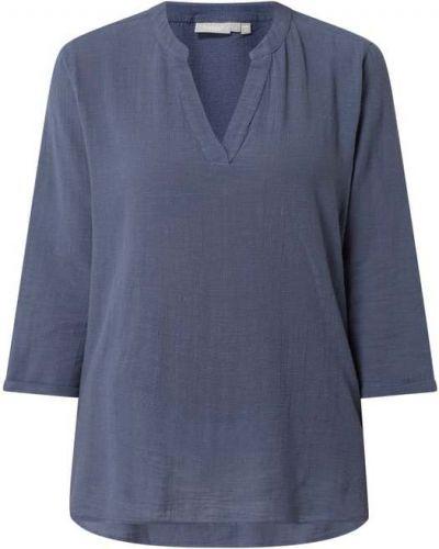 Niebieska bluzka rozkloszowana Fransa