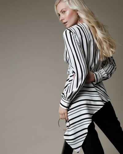 Блузка с запахом шелковая Audrey Right