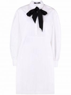 Tunika z długimi rękawami - biała Karl Lagerfeld