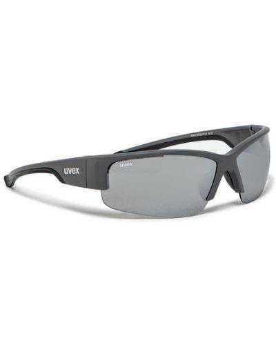 Szare okulary Uvex