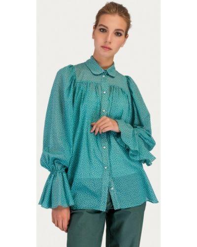 Блузка бирюзовая Stimage