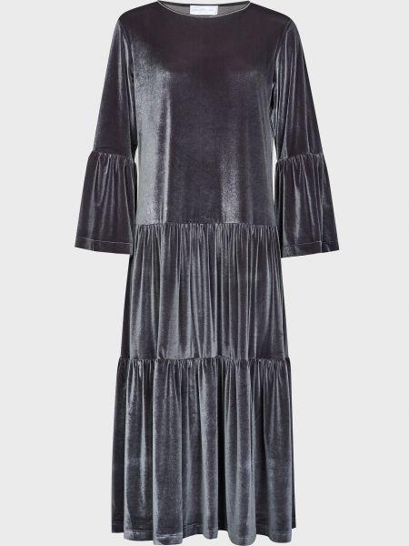 Платье из полиэстера - серое Rocco Ragni