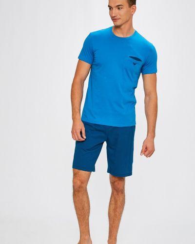 Пижама синий Emporio Armani