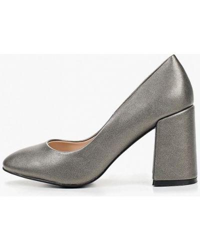 Кожаные туфли - серебряные Teetspace