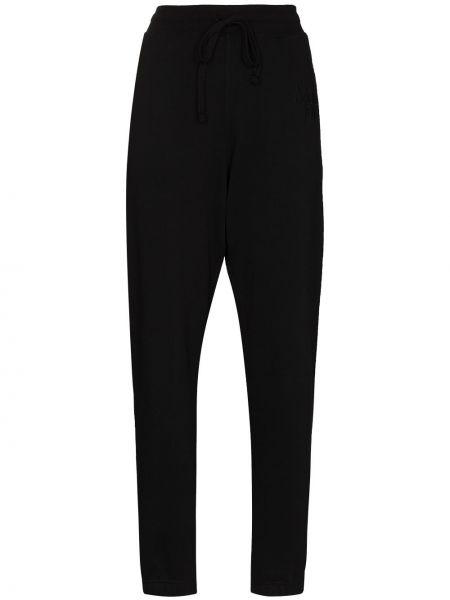 Czarne spodnie bawełniane More Joy