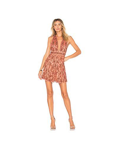 Платье мини с бисером Nbd
