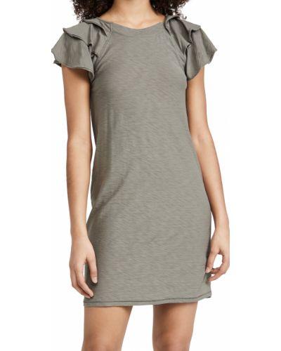 Трикотажное платье с декольте круглое Nation Ltd