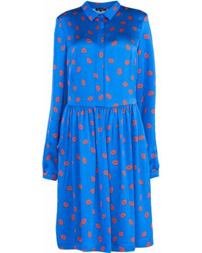 Платье на пуговицах со складками Terekhov Girl