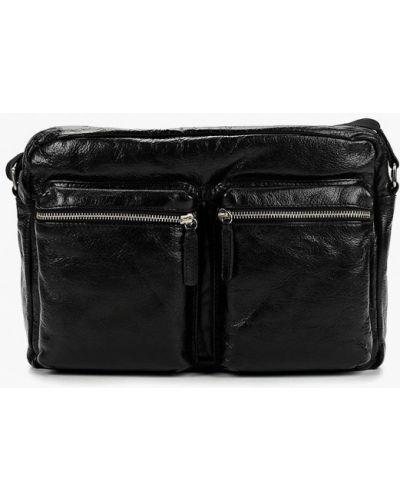 Кожаная сумка - черная Gianni Conti
