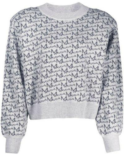 Szary sweter Magda Butrym