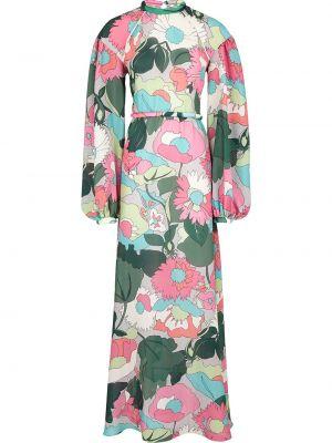 Платье шелковое Fendi