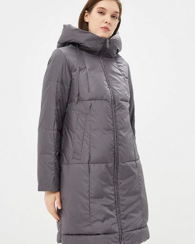 Зимняя куртка осенняя серая Clasna