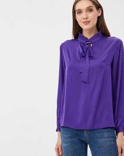 Фиолетовая блузка с бантом Sartori Dodici