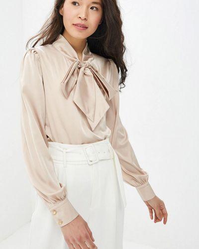 Блузка с длинным рукавом весенний бежевый Gepur