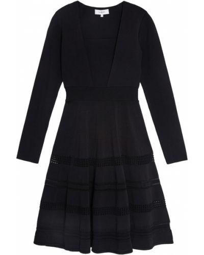 Платье с поясом прямое приталенное Carven